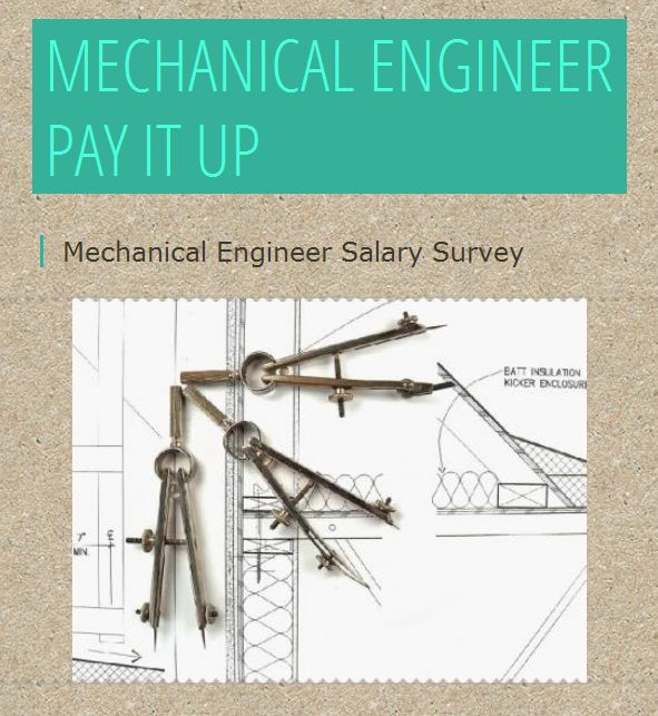 Engineering Salary Survey Infographic