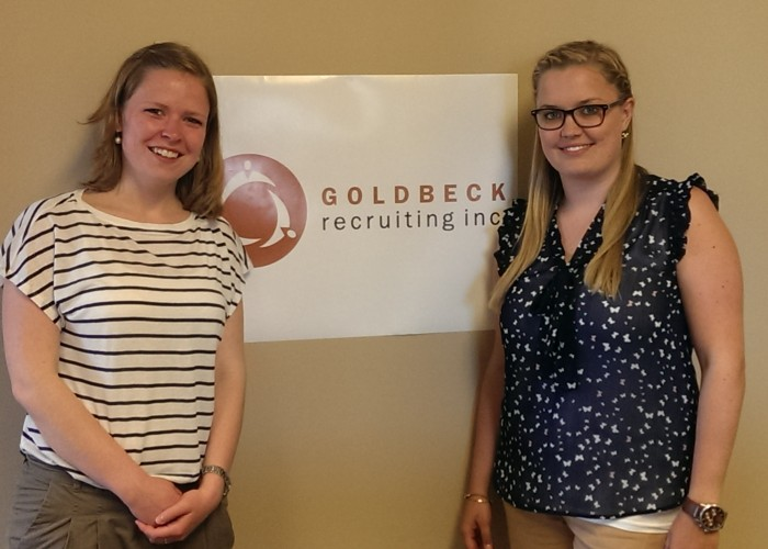 Our Internship as Recruiters at Goldbeck Recruiting