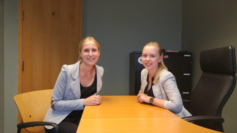 Julia (left) & Lena (right)