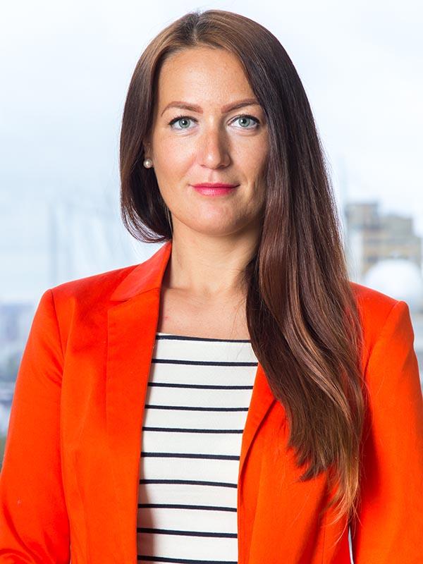 Julia Sustakova, Senior Recruiter for Goldbeck Recruiting in Vancouver, Canada