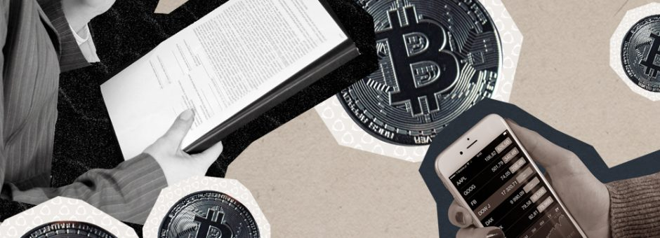 Formerly skittish entities vie to store, insure and even create cryptocurrency. A look at finance's relationship with digital currency.